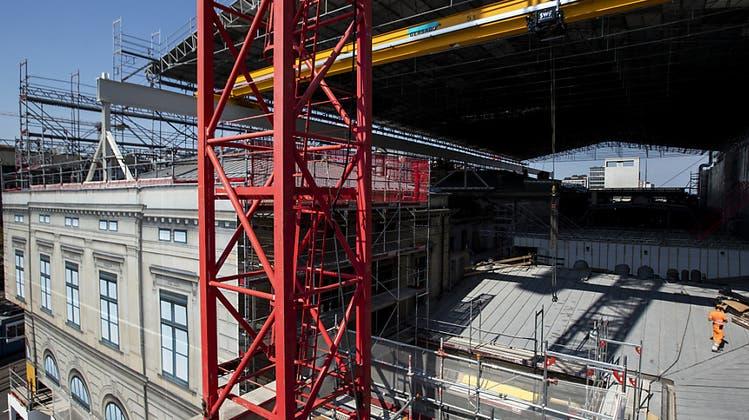 Augenschein vor Ort: So wird der Südtrakt des Zürcher Hauptbahnhofs für 141 Millionen saniert