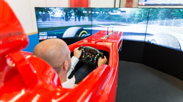 Fahren wie in der Formel 1: In Olten soll die erste Racing Lounge eröffnet werden