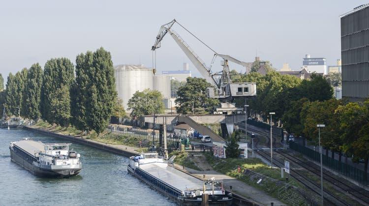Zwischenlösung für Hafenkran
