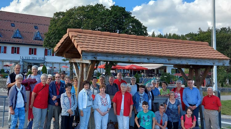 Trachtenreise am 15. August 2020 in den Jura