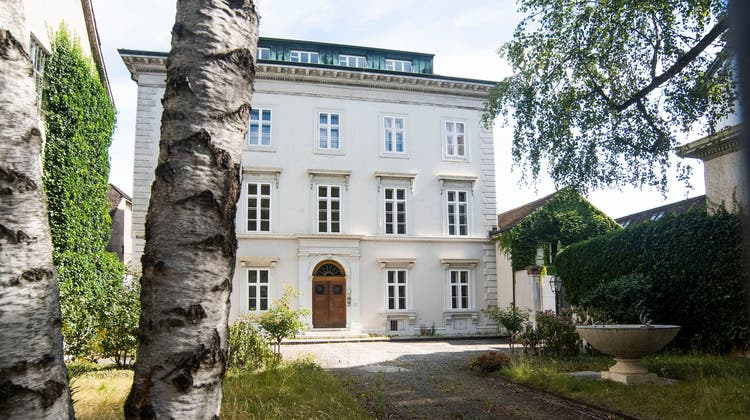 Ein schwieriger Prunkbau: Warum der Kanton die alte Villa der Staehelins fast nicht loskriegt