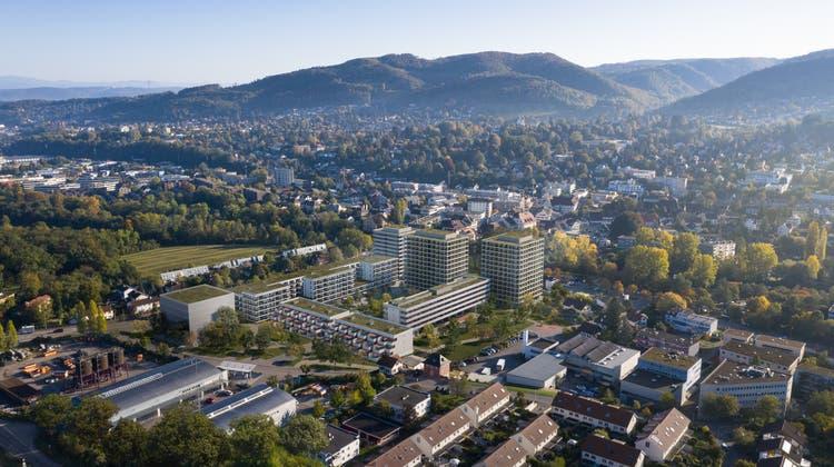 Bauriese griff zu: Auf Stöcklin-Areal entstehen drei Wohn-Türme