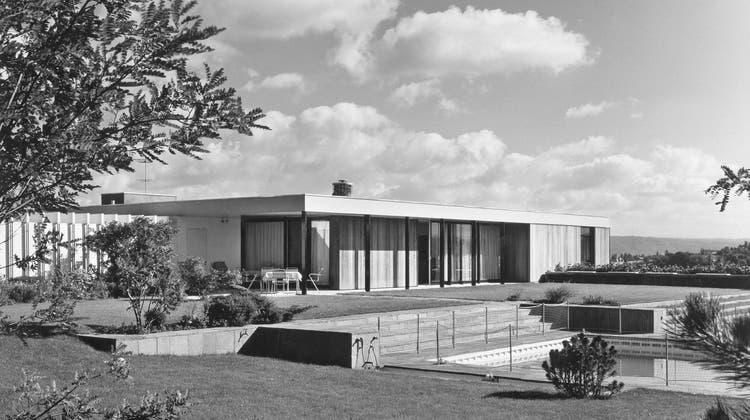 Modern und mit Weltflair - Einfamilienhäuser der Nachkriegszeit in der Region