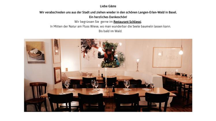 Der «Wilde Mann» wird edler: Gastro-Grösse übernimmt Kleinbasler Kultbeiz