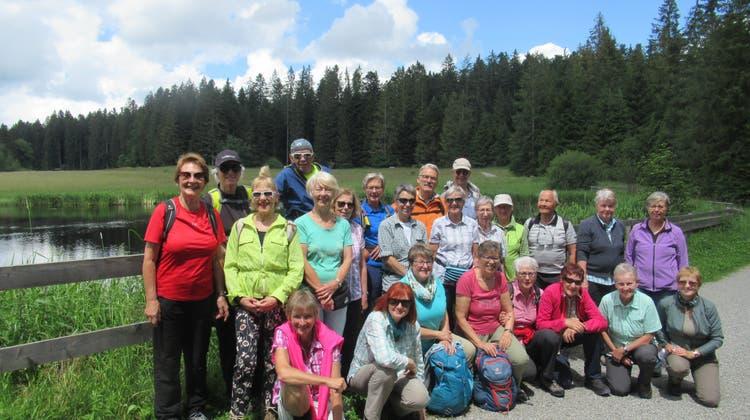 Bergwandergruppe Olten - Wanderung zum Wachseldornmoos im Emmental