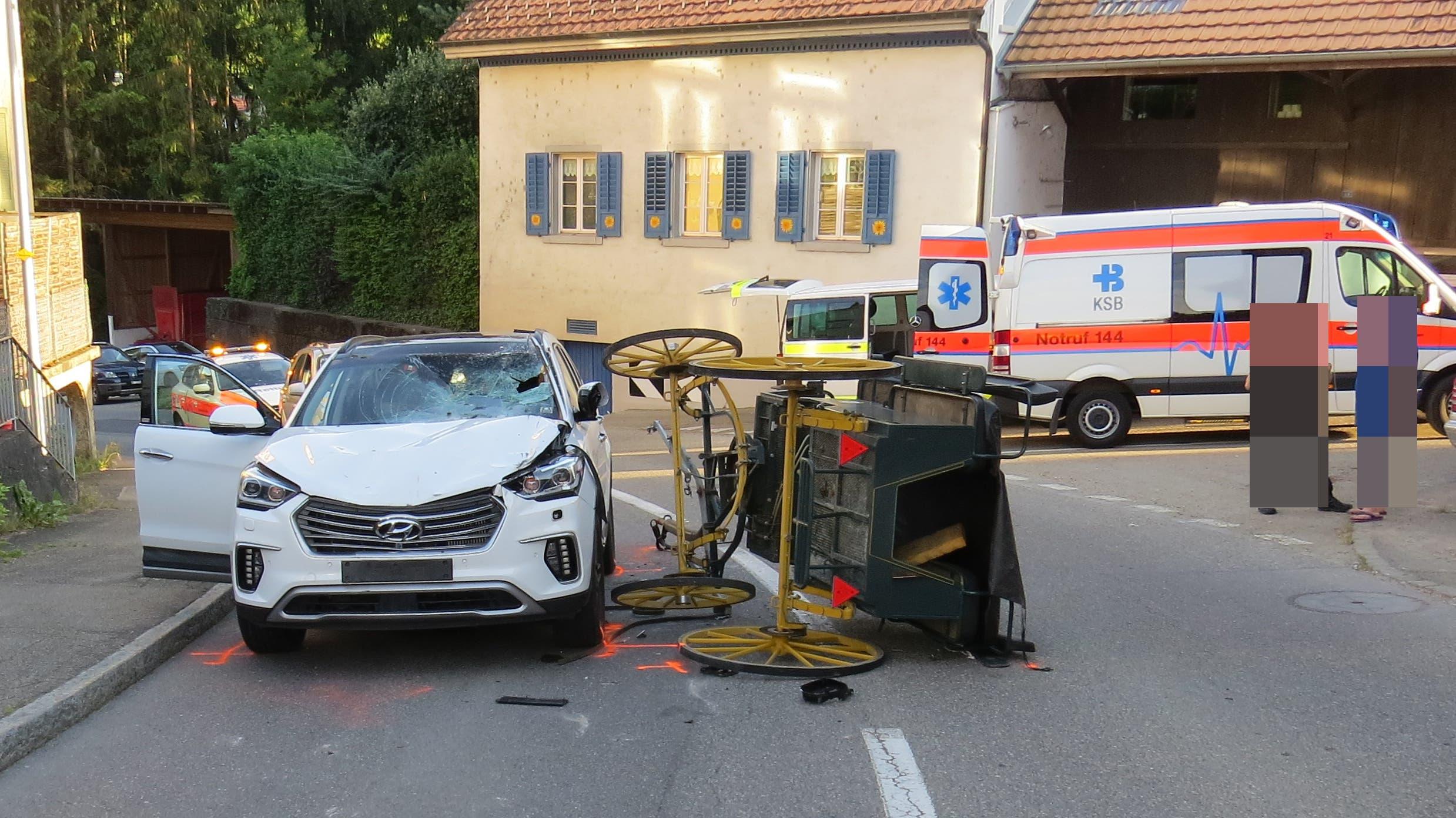 Drei Kutschenunfälle im Aargau (Juni/Juli 2020)