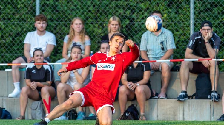 Mit Technik und Spielwitz statt roher Kraft: Der Aargauer Tim Egolf will sich im Nationalteam etablieren