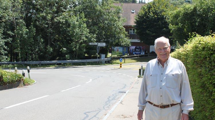 Er wünscht sich Tempo 30 auf der unteren Kindhauserstrasse – 64 Anwohner machen mit
