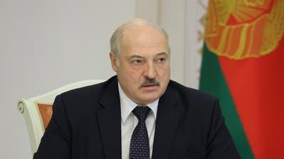 Ist nun von EU-Sanktionen direkt betroffen: Weissrusslands Präsident Alexander Lukaschenko. (Maxim Guchek / Belta Pool / Pool / EPA)