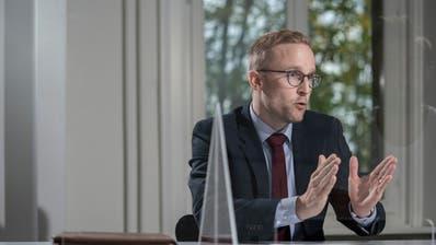 Zweifelt, ob Loredana vor Gericht vollumfänglich verurteilt worden wäre: Der Luzerner Staatsanwalt Adrian Berlinger. (Bild: Pius Amrein (Luzern, 12. Oktober 2020))
