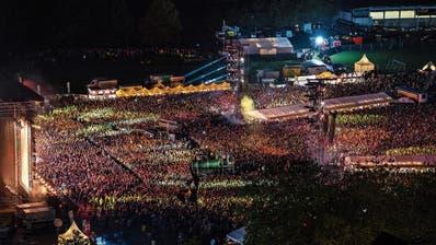 Veranstaltungen der Superlative wie «Allmend rockt» haben im Kanton echten Seltenheitswert. (Bild: Philipp Schmidli (Luzern,25. August 2018))