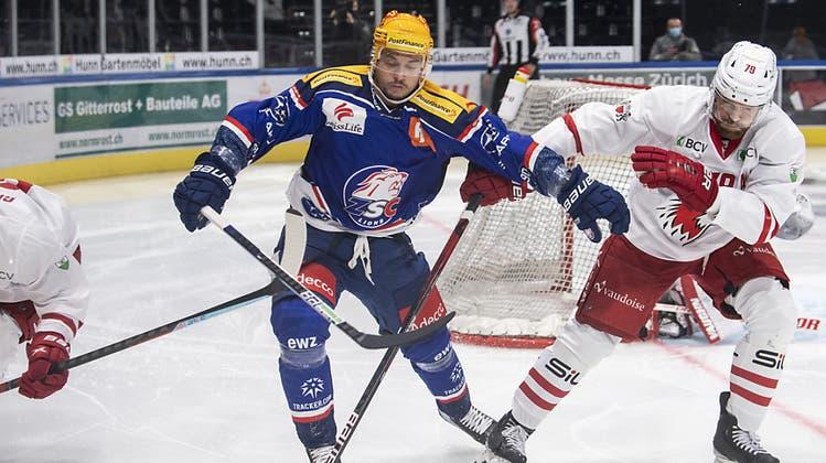 ZSC Lions siegen gegen Lausanne dank starkem Schlussdrittel