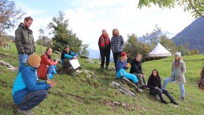 Gründungsversammlung des Vereins Projekt Zukunft. Dieser will den nachhaltigen Wandel in Nidwalden fördern. (Bild: Carina Odermatt (Ennetmoos, 11. Oktober 2020))
