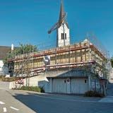 Die erste Etappe für den Pavillon bei der katholischen Kirche Aadorf ist geschafft