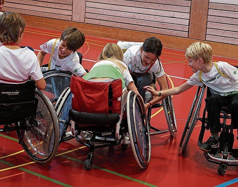 Egal, ob Karate, Rollstuhlsport oder Turnen – den Wiler Kindern und Jugendlichen wird auch an den 13. Wiler Jugend Games eine grosse Vielfalt an polysportiven Erlebnissen angeboten.