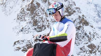 Marco Odermatt holt sich in dieser Woche auf der Diavolezza im Oberengadin den letzten Schliff für den Weltcupstart in Sölden (Swiss-Ski/Chastan)