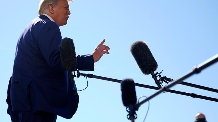 Trump wirbt vor Wahl für weiteres billionenschweres Konjunkturpaket