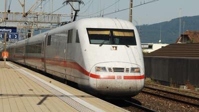 Die Deutsche Bahn und die SBB wollen ihr grenzübergreifendes Angebot ausbauen. (Angelo Zambelli / ZUR)