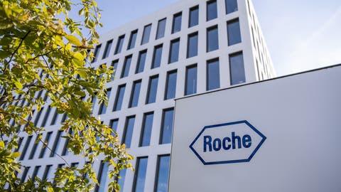 Der Sitz von Roche Diagnostics International AG in Rotkreuz, Zug (Urs Flueeler / KEYSTONE)