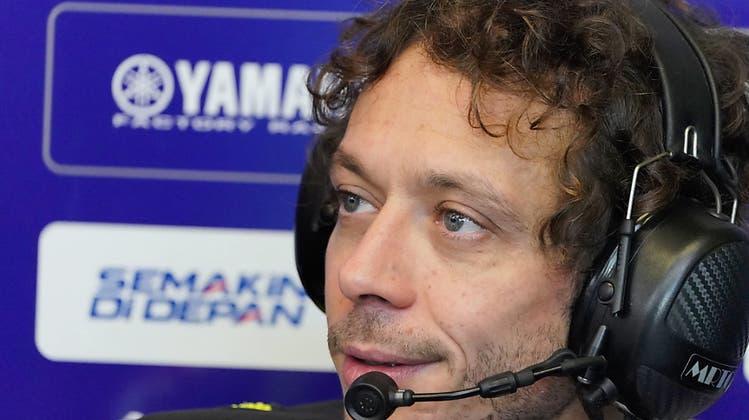 Rossi verpasst wegen Corona Rennen in Aragon