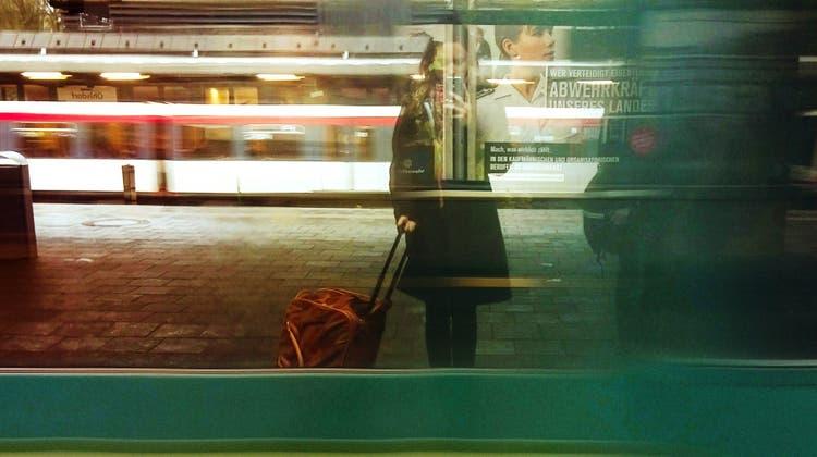 Inspirationsquelle für Gedichte:  Der Bahnhof, Ort des Abschieds und der Ankunft. (Bild: Getty Images)