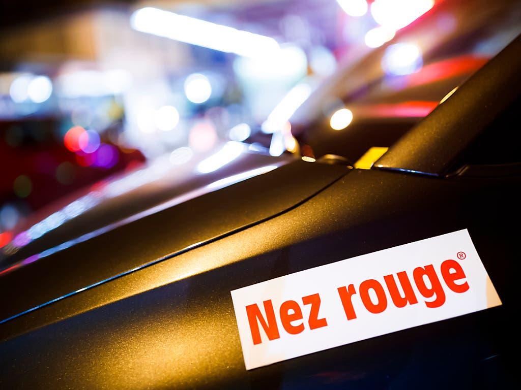 Corona trifft über die kommenden Festtage auch dem Heimfahrdienst von «Nez Rouge».