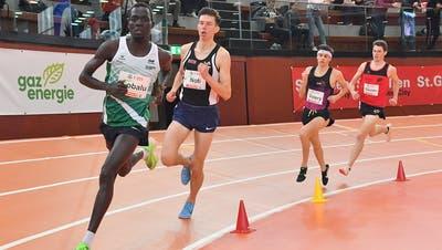 Der St. Galler Langstreckenläufer Dominic Lobalu tritt an der Schweizer Meisterschaft im Halbmarathon an – als Favorit