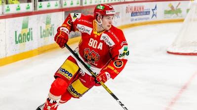 Biels Verteidiger Janis Moser (20) startete stark in die Saison. (Bild: Freshfocus (Biel, 9. Oktober 2020))