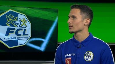 Lino Lang zu Gast im Fussballtalk «Einwurf» vor dem Heimspiel gegen St.Gallen – so will der FCL drei Punkte einfahren