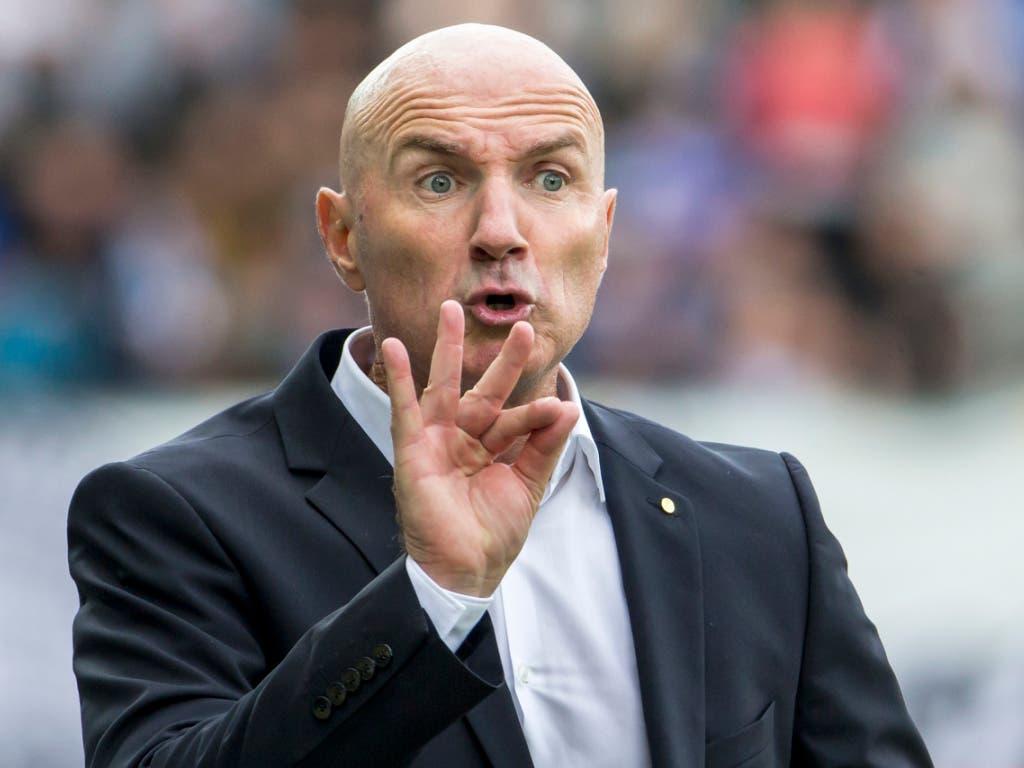Carlos Berneggers Debüt als Trainer des FC Thun ist geglückt