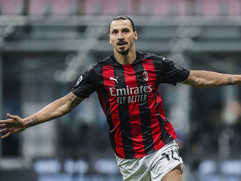 Zwei frühe Tore: Dank Zlatan Ibrahimovic gewinnt Milan erstmals seit 2016 ein Derby gegen Inter
