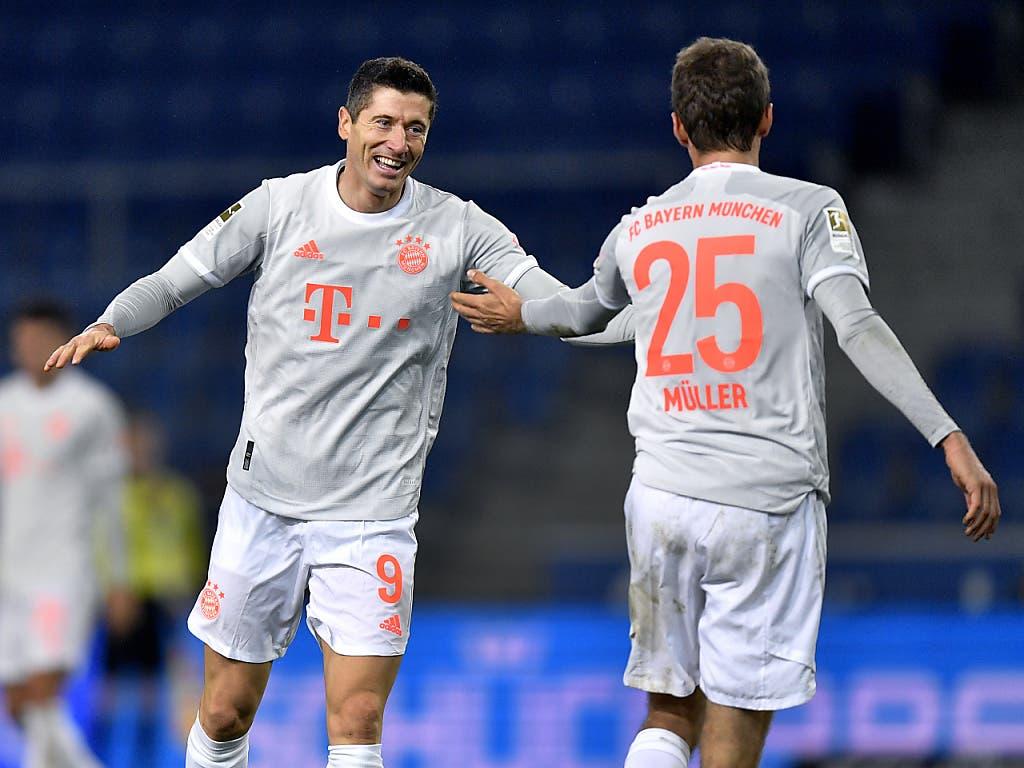 Robert Lewandowski schiesst in dieser Bundesliga-Saison für Bayern München alle 43 Minuten ein Tor