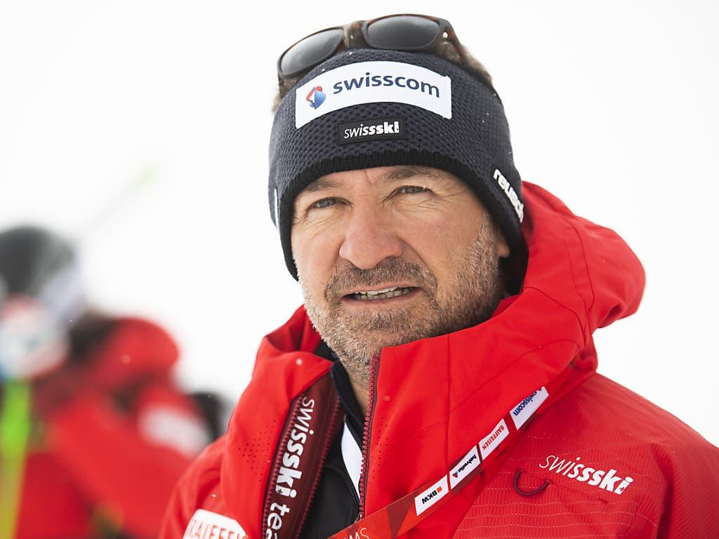Beat Tschuor, der Cheftrainer des Schweizer Frauen-Teams