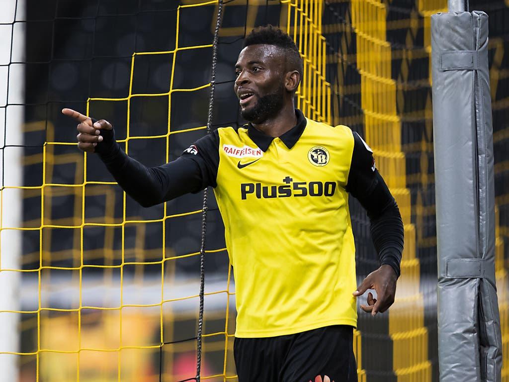 Mit dem passenden Mitspieler an der Seite könne Jean-Pierre Nsame bald wieder mit der fleissigen Torproduktion weiterfahren