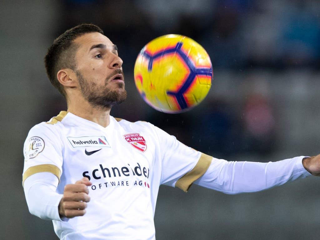 Dejan Sorgic, hier noch im Tenü des FC Thun, soll Luzerns neuer Goalgetter werden