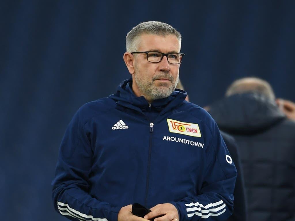 Union Berlins Schweizer Trainer Urs Fischer ist nicht ganz zufrieden: Trotz Führung reichte es gegen Schalke nur zu einem Unentschieden