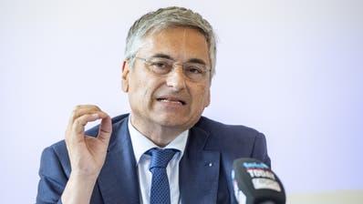 Der Luzerner Gesundheitsdirektor Guido Graf (CVP) (Urs Flüeler/Keystone)