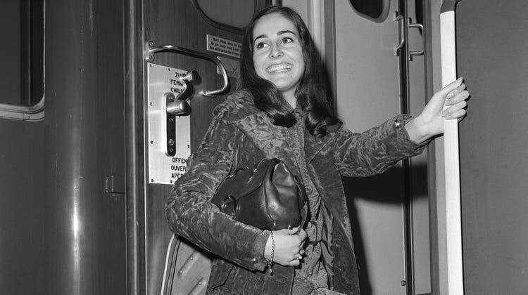 Schlagersängerin Paola del Medico, aufgenommen im Juli 1968 in Zürich. (Bild: Photopress-Archiv/Keystone)