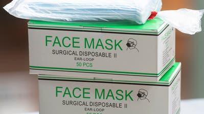 Schutzmasken. ((Bild: Alex Spichale/AGR))