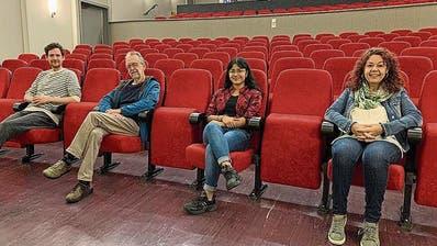 Der Vereinvorstand von «Die Zauberlaterne Romanshorn»: Lorenzo Berardelli, Markus Bösch, Vinuja Vivekanantharasa und Doris Staudenmann (PD)