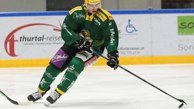Mit erst 20 Jahren schon Topskorer: Frantisek Rehak trägt massgeblich zum erfolgreichen Saisonstart des HC Thurgau bei. (Mario Gaccioli)