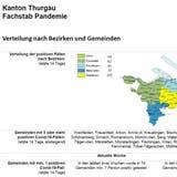 Bezirk Weinfelden mit den meisten Fällen: Thurgauer Corona-Lagebericht ist neu öffentlich