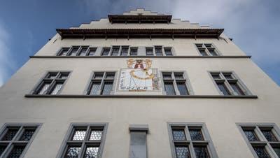 Aussenansicht des Rathauses im Städtli Sursee. (Pius Amrein)