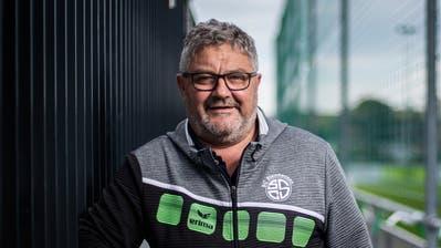 Bruno Beck ist seit den 1990er-Jahren auf dem Steinhauser Eschfeld tätig. (Bild: Stefan Kaiser (21. Oktober 2020))