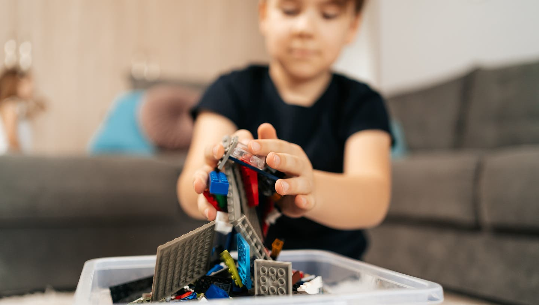 Endlich genug Zeit zum Legospielen! (Bild: Getty)