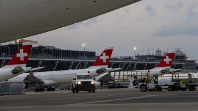 Bis zu 2 Millionen Franken Verlust pro Tag: Swiss hat nur noch wenige Flugzeuge in der Luft. (PD)