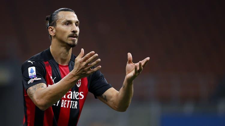 Der König des Strafraums. Zlatan Ibrahimovic hat auch mit 39 Jahren nichts von seiner Gefährlichkeit eingebüsst. (Antonio Calanni / AP)