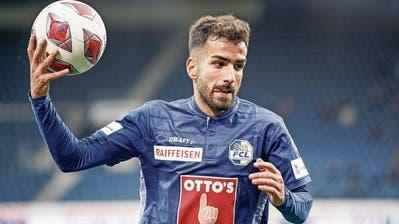 Der von Servette geflüchtete Varol Tasar freut sich: «Beim FCL spüre ich wieder Vertrauen»