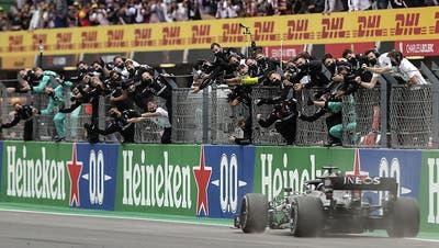 92. Sieg - Lewis Hamilton alleiniger Rekordsieger