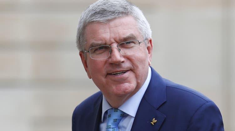 Der Deutsche Thomas Bach: Olympiasieger im Fechten (1976) und seit 2013 Präsident des Internationalen Olympischen Komitees IOC (Bild: Francois Mori / AP)